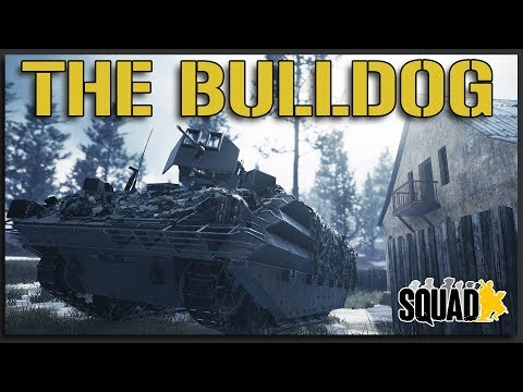The Most Underrated Vehicle in Squad? - Cinematic Squad Gameplay 40v40 Realistic Battlefield |