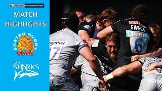 MATCH HIGHLIGHTS - Exeter Chiefs v Sale Sharks