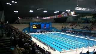 Medal Ceremony, Men's 4x200 Freestyle Relay, London 2012
