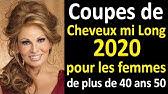 Coiffure Femme Mi Long 2015 Coupes De Cheveux Tendances Youtube