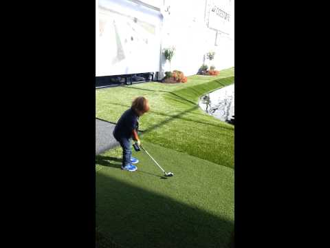 Tiger Woods Son Can Swing Better Than You!