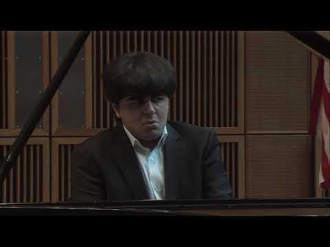 Cleveland International Piano Competition (3rd Round, SF)| David Khrikuli
