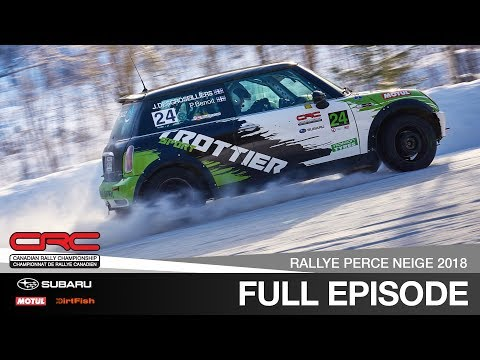 CRC TV: Rallye Perce Neige 2018  Canadian Rally Championship