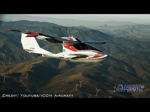 Airborne 05.10.17: ICON A5 Fatality, NBAA v Santa Monica, EASA Drone Regs