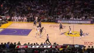 15 03 2009 lakers mavericks  lakers highlights
