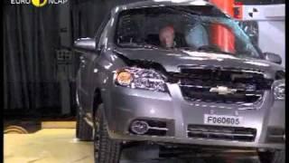 Краш тест Chevrolet Aveo Sedan 2006 (E-NCAP)