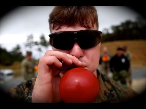 Why SWAT Marines Train With Party Balloons?   Shoot the Rainbow thumbnail