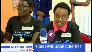 Sign Language Contest: Sept is deaf awareness month, families are meeting in Muthaiga for contest