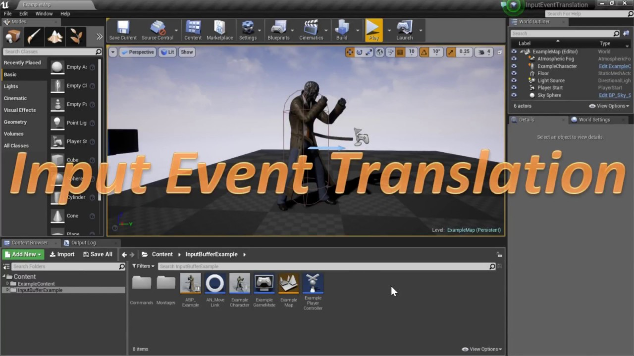 Free input buffering plug in for unreal engine 4 unreal engine engine version 415 416 supported development platforms all supported target build platforms all malvernweather Choice Image