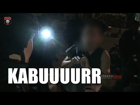 NGAKAK !! Tim Prabu Dengerin Orang Mabuk Ngobrol - Patroli Tim Prabu