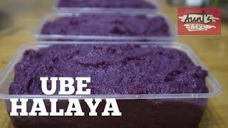 How to make UBE HALAYA ~ Creamy Ube Halaya | Purple Yam Jam