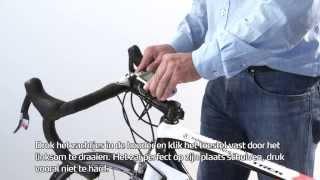 Hoe plaats ik mijn fietshouder op mijn fiets? (How to movie - Bike Mount - Nederlands)