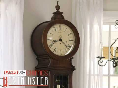 Howard Miller | Arendal Floor Clock Tuscan Cherry 611-005