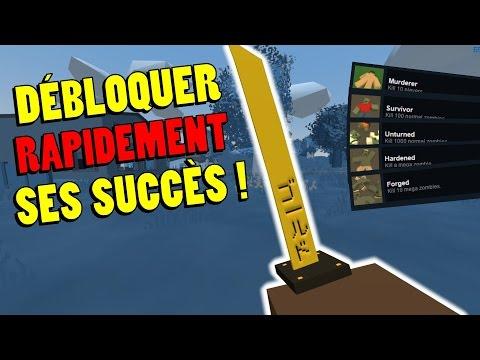 [FR] Astuce Unturned : Débloquer rapidement ses succès Steam ! [60fps]