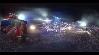 """Шоу """"Ночных волков"""" в Севастополе. Трансляция 360°"""