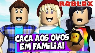 FAMILY EGG HUNT! Ft. Milena-Roblox (2017 Egg Hunt: The Lost Eggs)