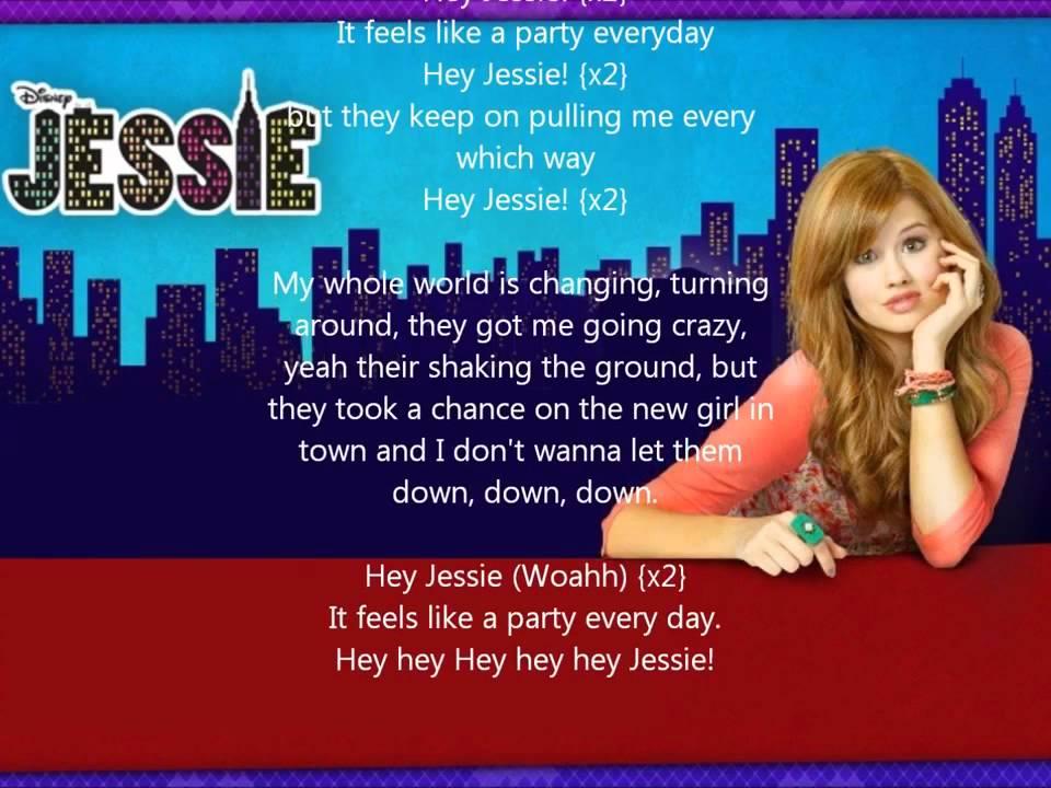 ♫ Hey Jessie - Debby Ryan (with lyrics) ♪.mp4 - YouTube