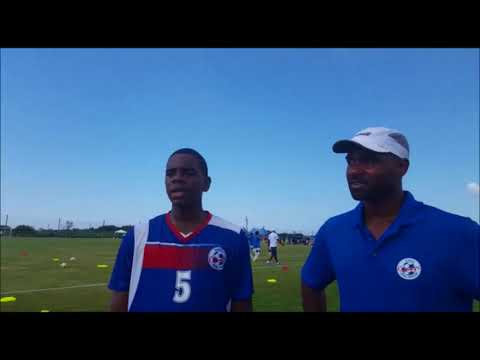 Coach Speaks After Bermuda vs Cuba Game, Aug 17 2017