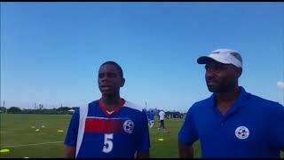 Coach Speaks After Bermuda vs Cuba Game, Aug 17 2017