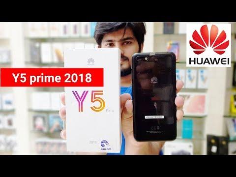 Huawei Y5 Prime 2018 Video Review, Huawei Y5 Prime 2018