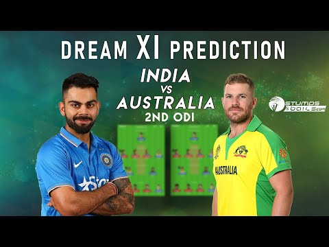 IND vs AUS Dream11 Team | India vs Australia 2nd ODI Match Dream11 Team Prediction Today Match