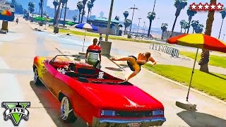 GTA 5 Online - ONE OF US!! Hilarious Custom Races with LOWRIDERS!! | GTA 5 Funny Moments