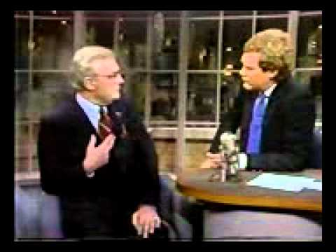 "Edward Woodward on ""Late Night with David Letterman"""