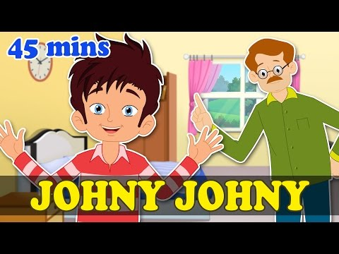 Johny Johny Yes Papa & Popular Nursery Rhymes Collection   Max And Louie