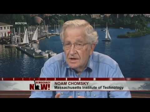 Noam Chomsky on Israel's Assault on Gaza & U.S. Support for the Occupation