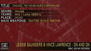 Jessie Saunders & Vince Lawrence - On And On (Jes Say Records | 1984)