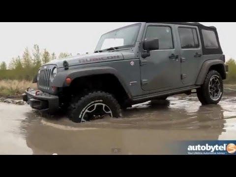 2013 Jeep Wrangler Unlimited Rubicon 10th Anniversary Test