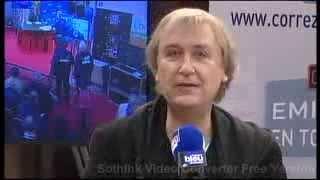 FOIRE DU LIVRE DE BRIVE 2013 : FRANCE BLEU LIMOUSIN – PLANTU