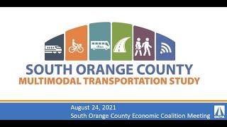 SOCEC Webinar South OC Multimodal Transportation Study 082421