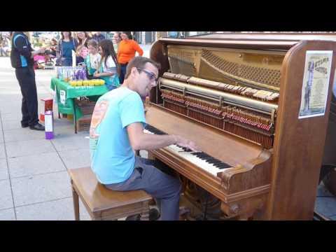 2016 Santa Cruz Ragtime Festival - Kylan DeGhetaldi 1