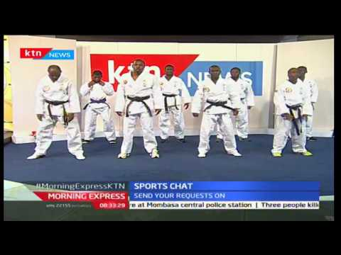 Sports Chat: Kenya Tong Il Moo Do team that won 8 medals in South Korea, September 12th 2016