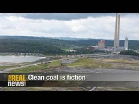 Clean coal is fictional