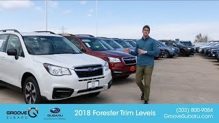 2018 Subaru Forester Trim Levels Explained