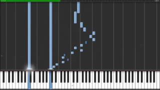 Prelude and Fugue No.2 in C minor - piano tutorial Synthesia