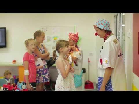 Mondelēz International working with The Humour Foundation Clown Doctors (Australia)