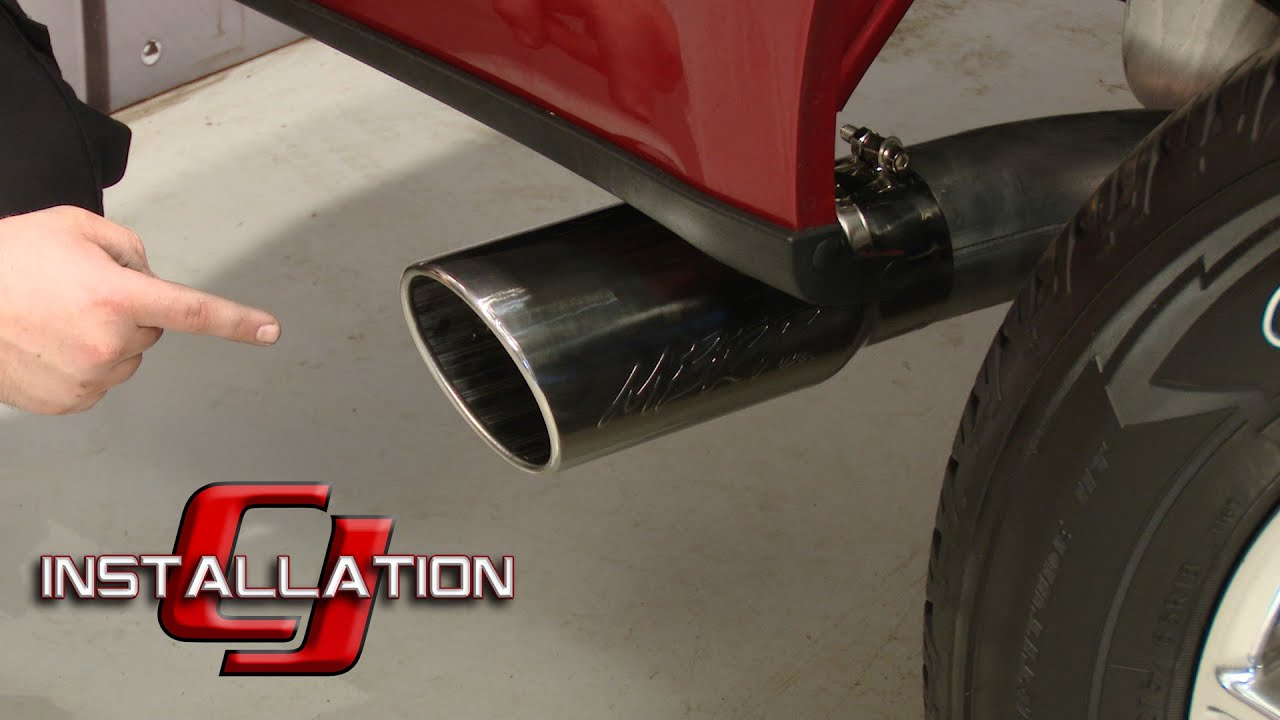 F 150 Mbrp Cat Back Exhaust System 4 Quot Single Side Exit
