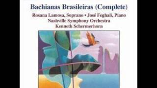 Bachianas Brasileiras, No. 5 for voice and 8 cellos (1938 and 1945), I. Aria (Cantilena)
