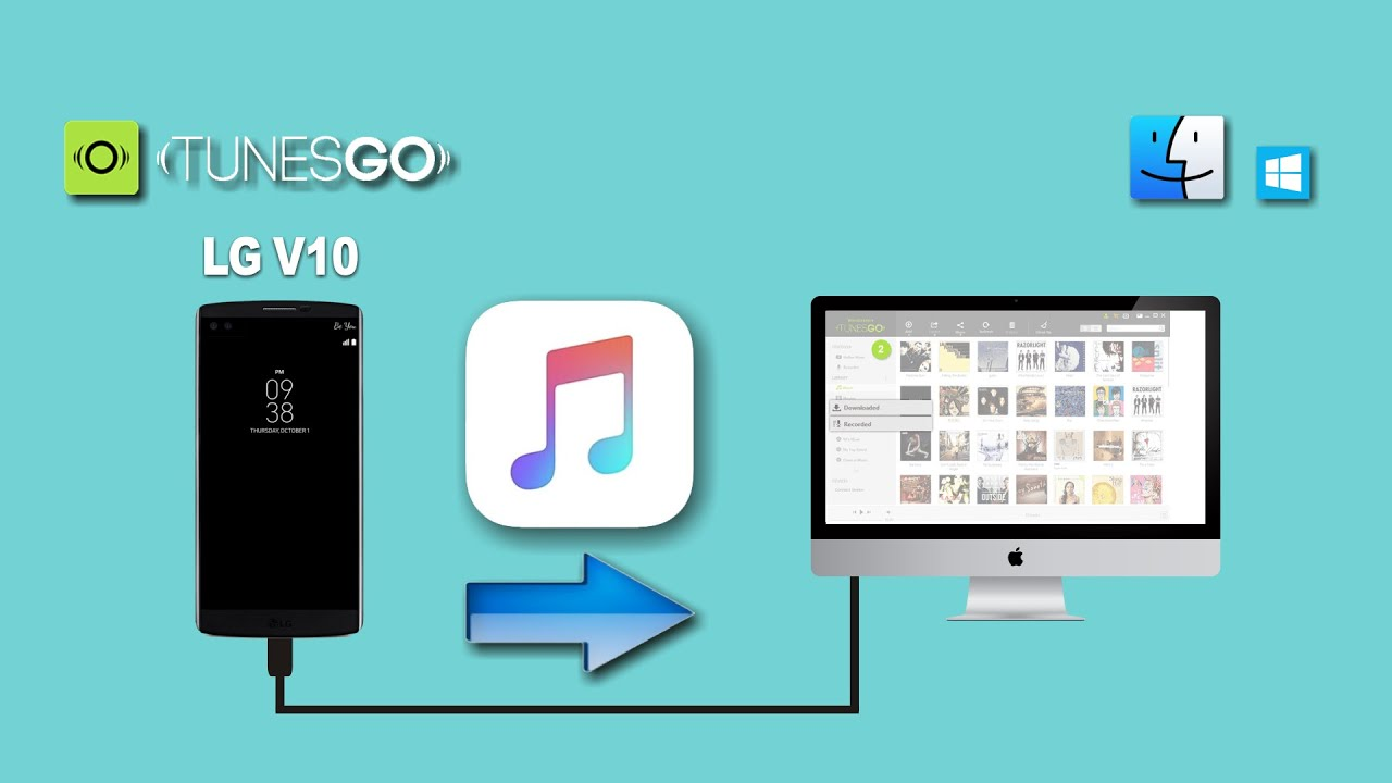 How to Transfer Songs from LG V10 to Mac, Backup LG Music to Computer