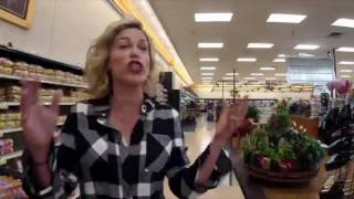 Searching for milk and bread at Food City ahead of predicted snow