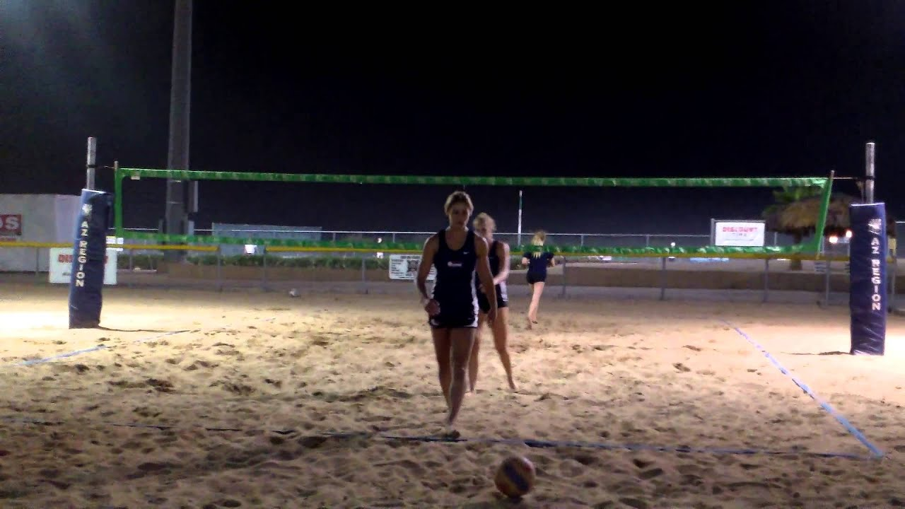 Victory Lanes Sand Volleyball 6/10/15 - YouTube
