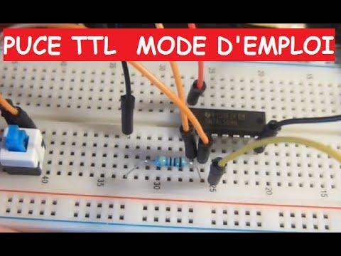 Tronik aventur n 51 porte et puce ttl mode emploi for Porte logique non et