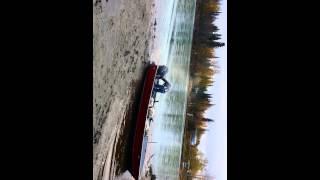 Boat beaching gone bad