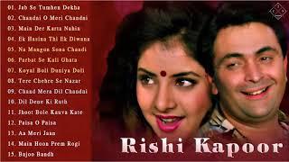Top 15 Best Songs Of Rishi Kapoor    Superhit Old Songs Hindi    Bollywood Songs 90s