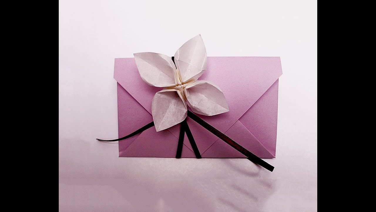 Simple Envelope in 4 steps. Make Your Own Origami ... - photo#26