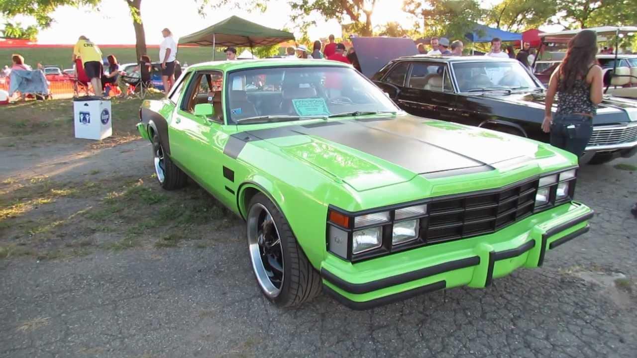 1978 Chrysler Lebaron Woodward Dream Cruise 2012 Youtube