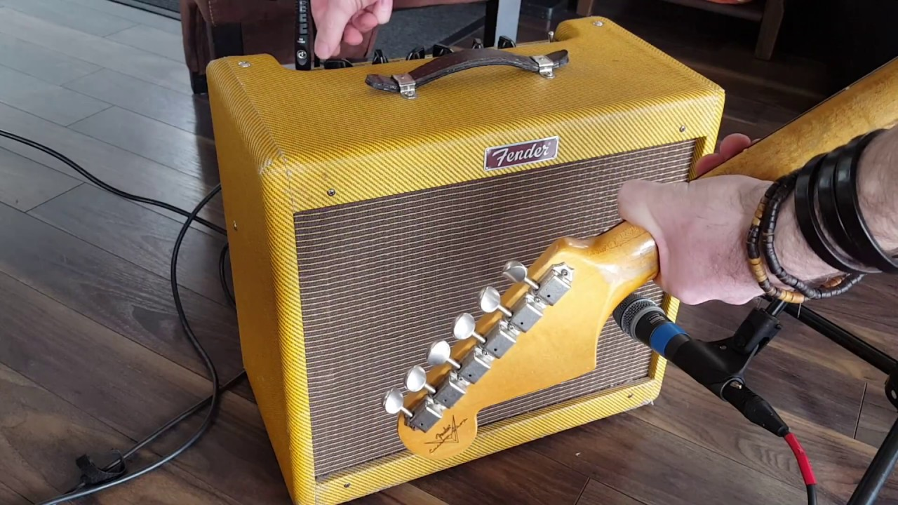 Fender blues junior lacquered tweed limited edition